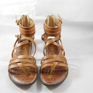 Sam Edelman tan leather sandals